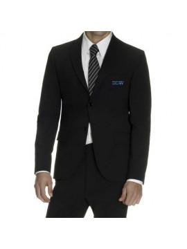 Black stylish receptionist uniform coat
